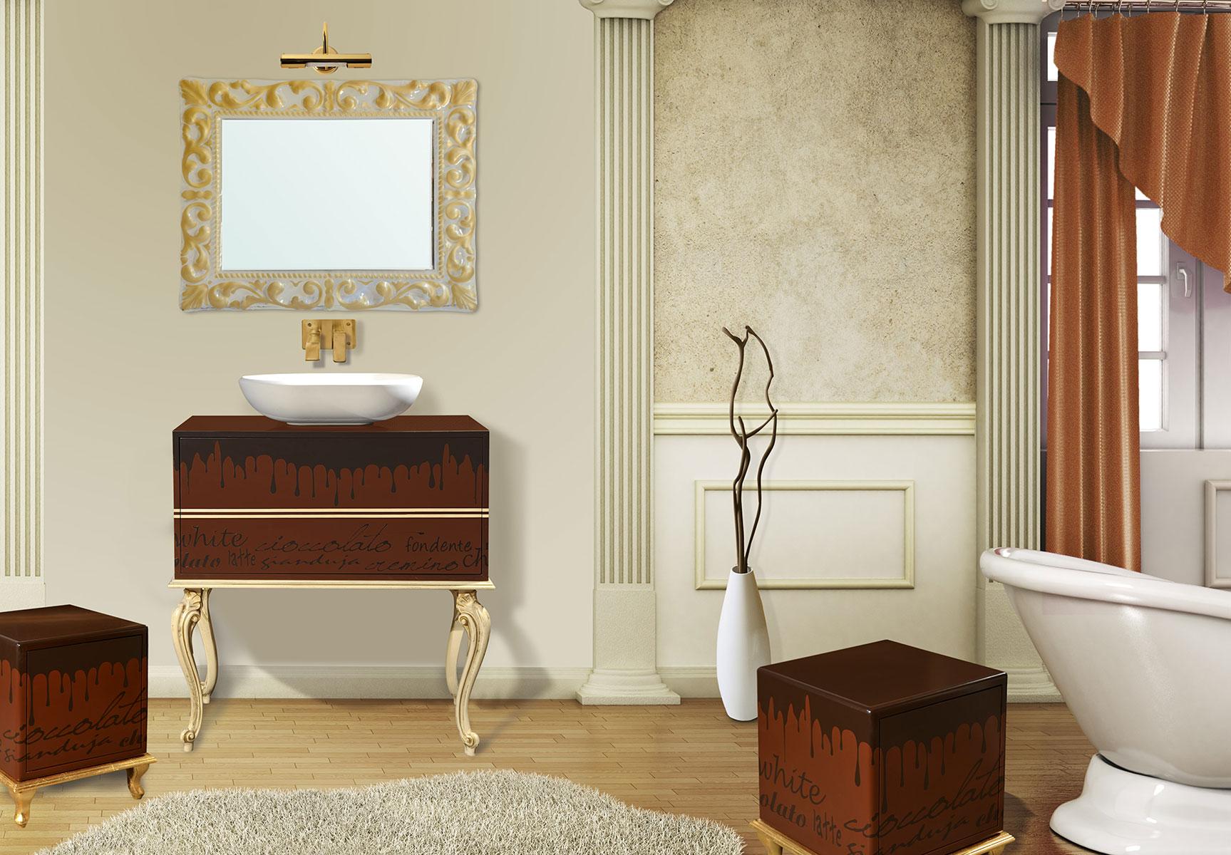 La bussola arredamenti bagni retr - Arredo bagno classico elegante prezzi ...