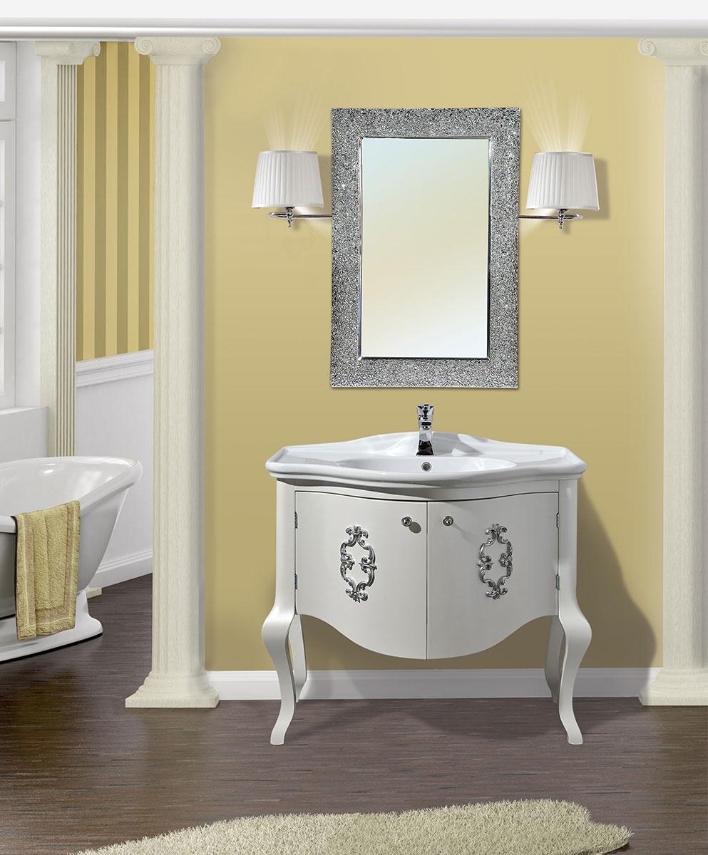 La bussola arredamenti bagni country - Applique per specchio bagno classico ...